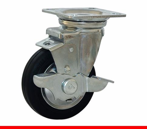 Sản phẩm Càng bánh xe L di động có khóa L100T của công ty cổ phần Làng Rùa