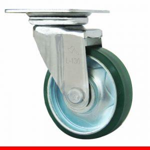 Sản phẩm Càng bánh xe L di động, Bánh xe nhựa PU L130PU