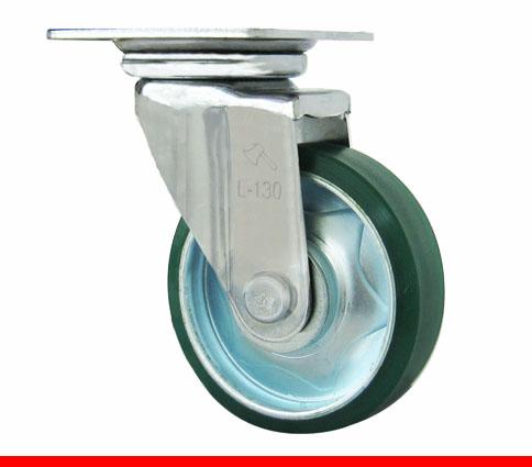 Sản phẩm Càng bánh xe L di động, Bánh xe nhựa PU L100PU