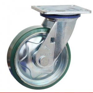 Sản phẩm Càng bánh xe M di động bánh xe nhựa PU M100PU