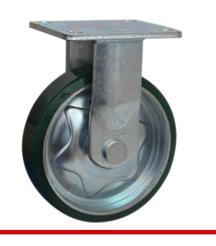 Sản phẩm Càng bánh xe M cố định bánh xe nhựa PU