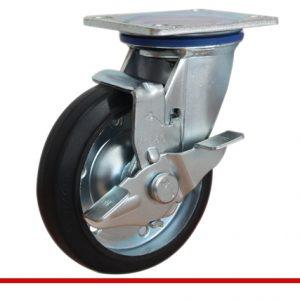 Sản phẩm Càng bánh xe M di động có khóa bánh đặc M150CT