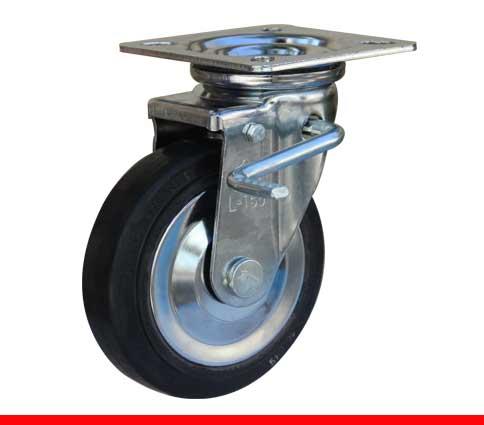 Sản phẩm Càng bánh xe L di động có khóa C L100TC