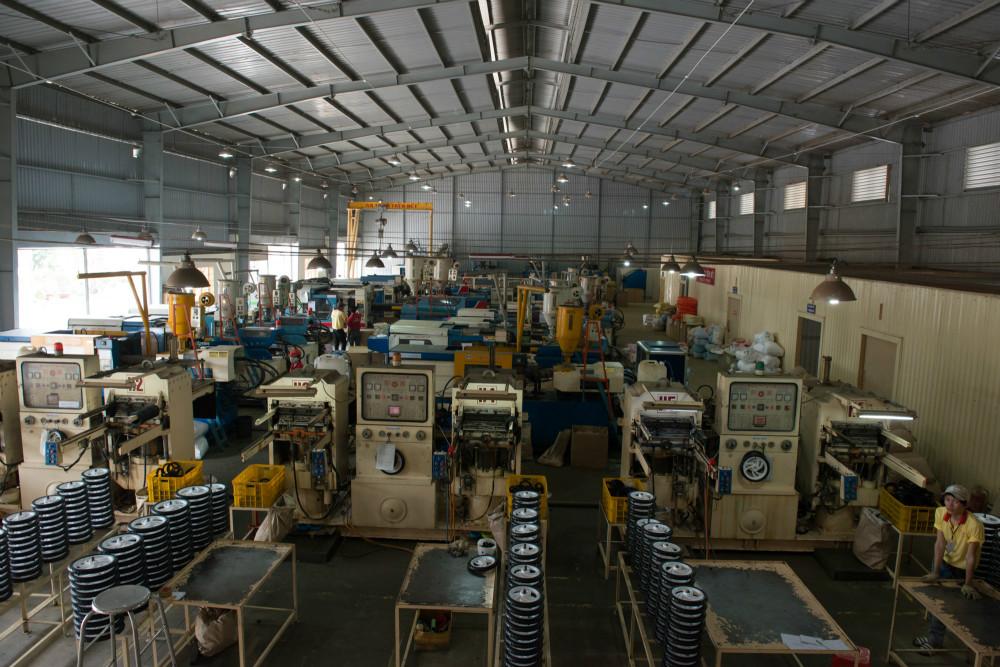Xưởng sản xuất Bánh xe đẩy